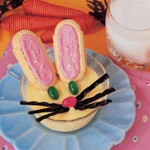 Bunny-shaped Easter Treats!