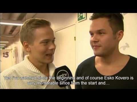 Boys win TV stars of the year award + Interview at Salatut Elämät 15th b...