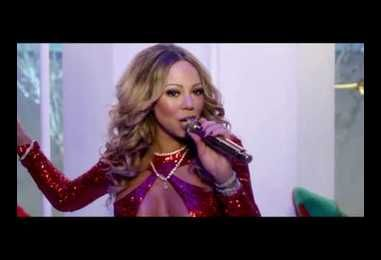 Mariah Carey Puts A Sexy Spin On Here Comes Santa Claus With Help From Her BF Bryan Tanaka & Dem Babies!