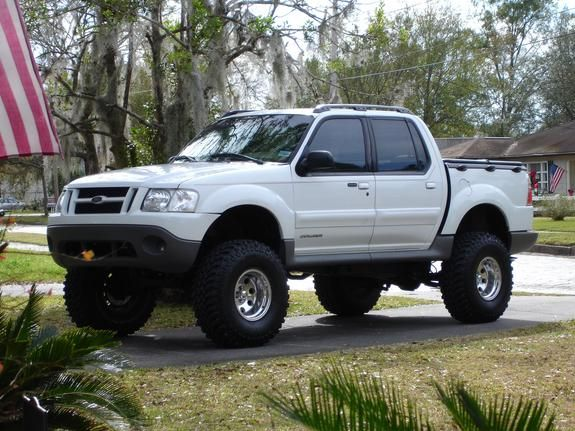 "lifted sport trac | 2001 Ford Explorer Sport Trac ""big boy"" - plant city, FL owned by ..."