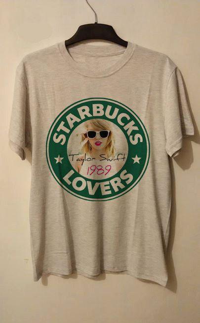 Starbucks Taylor Swift Lovers T shirt Unisex Adult by Kordenmu