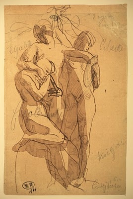 Auguste Rodin: Liberty, Equality, Fraternity