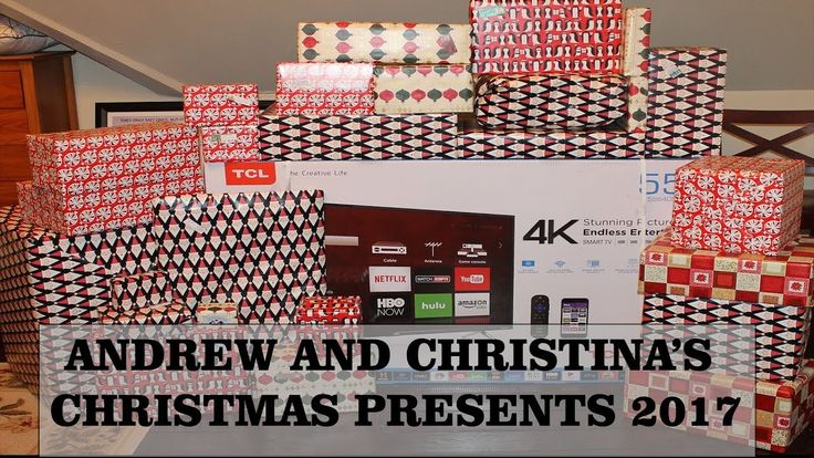Andrew & Christina's Christmas Presents 2017 (28 & 29 year-old)