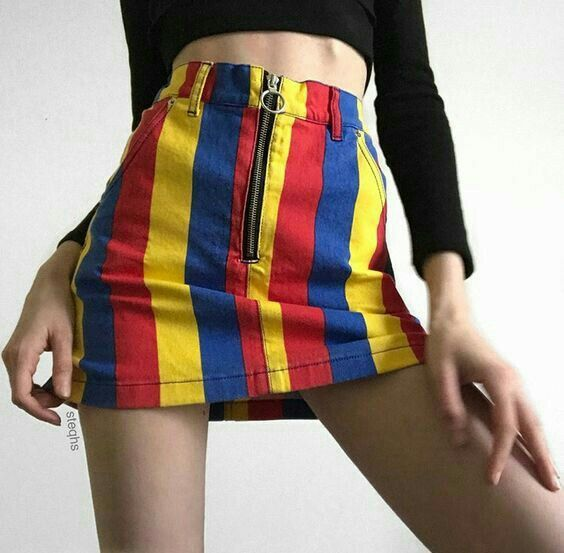 6a8c06bd3d42 primary color skirt | striped skirt | colorful skirt | summer outfit |  summer ootd