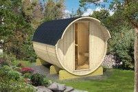 Barelová sauna 330 s elektrickými kamny