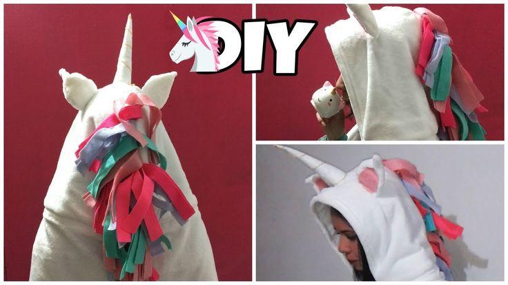 Cobertor de Unicórnio - DIY de Inverno (Unicorn Blanket) | Polly Peçanha