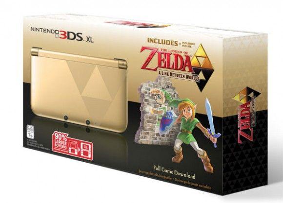 Nintendo 3DS XL The Legend of Zelda: A Link Between Worlds bundle coming Nov 22