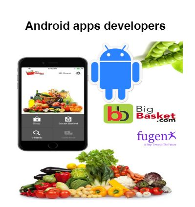 Android app developers Delhi:FuGenX is one of the foremost Android app development companies Delhi. We have an expertise and skilled android app developer who have a great knowledge of Android platform and they use advanced technology in Android app development process.