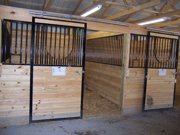 Building dimensions 40 w x 84 l x 10 h id 123 stall for Horse pole barn
