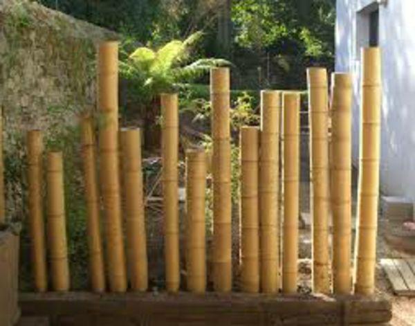 La palissade bambou japonaise - confortable et pratique ... - La Palissade