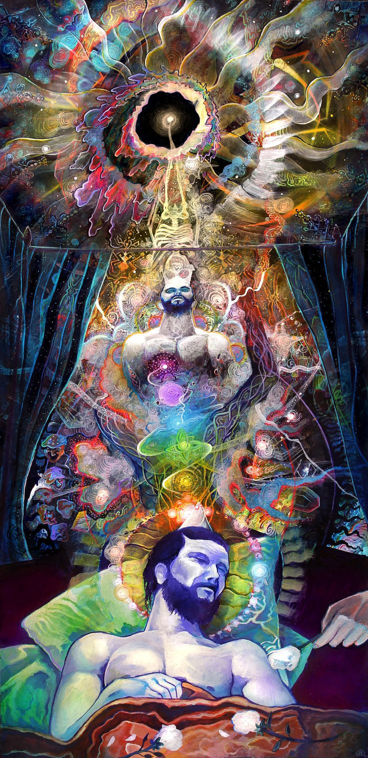 Just a regular DMT trip your body will experience every night which we call a dream.Lets all take a couple hits of dream, extinguish our egos and open our minds to the ignorance and destruction we collectively cause. Then never wake up.