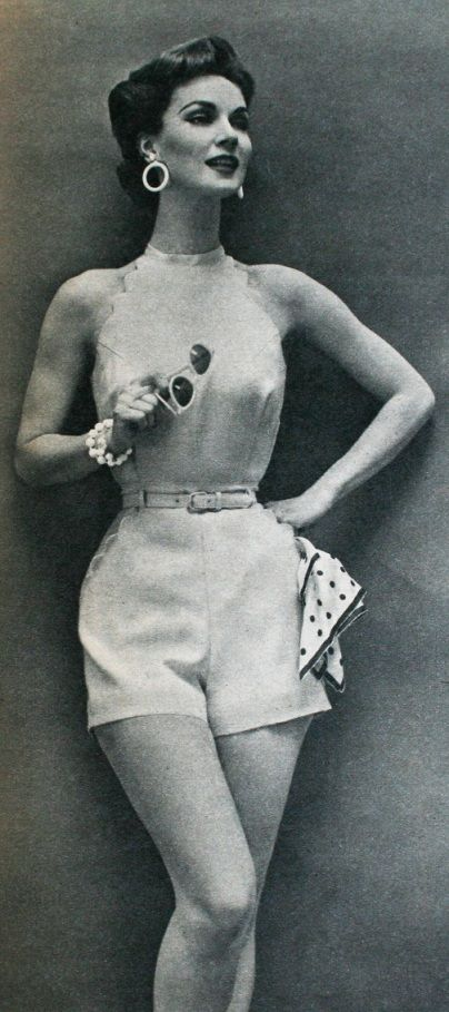 Summer shorts, Regina Mode (Dutch) Spring/Summer 1956