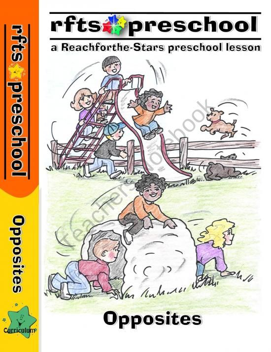 Opposites {An Early Learning Preschool Program} product from RFTS-Preschool on TeachersNotebook.com