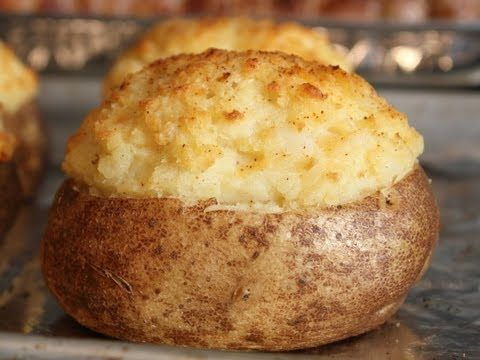 How To Make Fancy Stuffed Potatoes