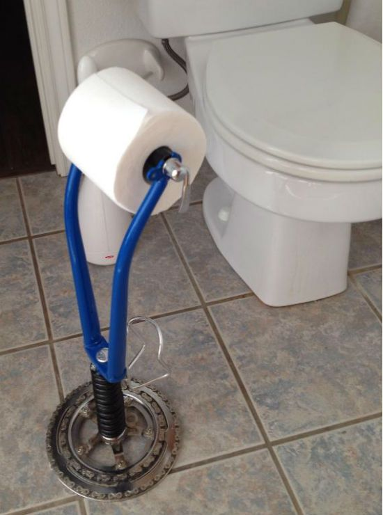Fork TP holder. For more great pics, follow bikeengines.com