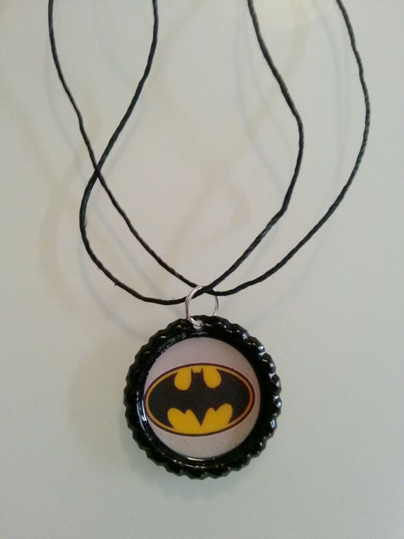 Bat man necklace... Perfect for party favors.