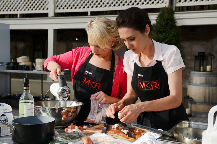 Jenna and Joanna are up tonight on My Kitchen Rules! Tune into Gusto at 9pm ET to see how they fare under pressure.