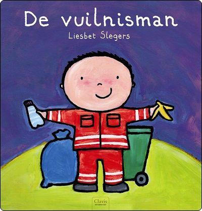 """boek """"de vuilnisman"""" van Liesbeth Sleghers  in samenwerking met ECOWERF"""