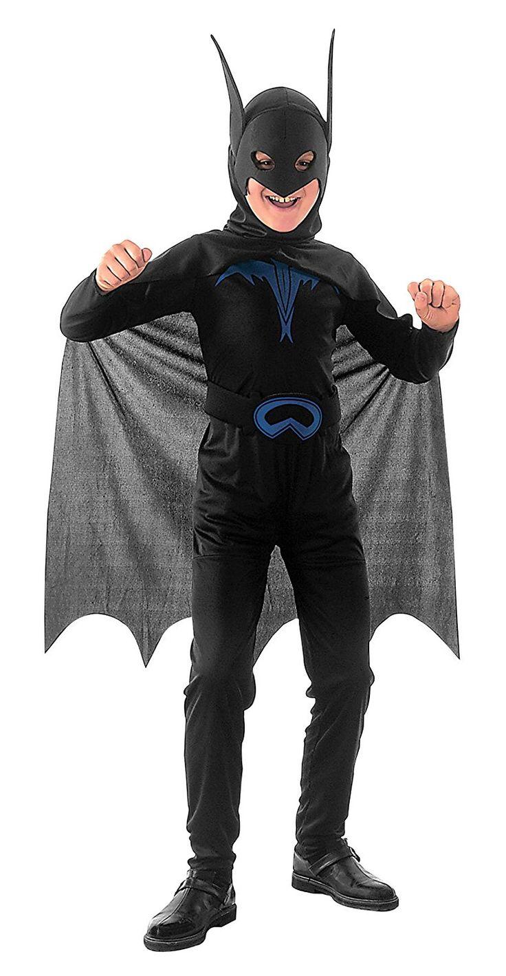 Bat Costume, Includes; Dress. #Halloween #Fancy #Dress #Costume #Boys #Outfit #Bat #Superhero