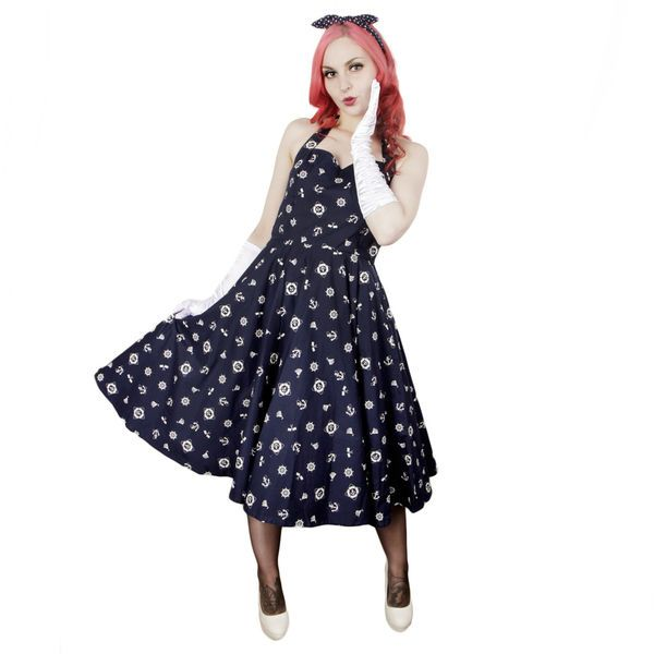 Miss Elinor -Delilah Navy Mekko | Cybershop