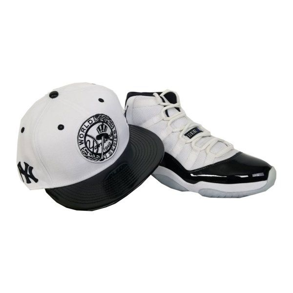 1a409608d1a Matching New Era New York Yankees 1949 WS Snapback for Jordan 11 White  Black Concord