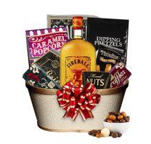 Fireball Liquor Gift Basket
