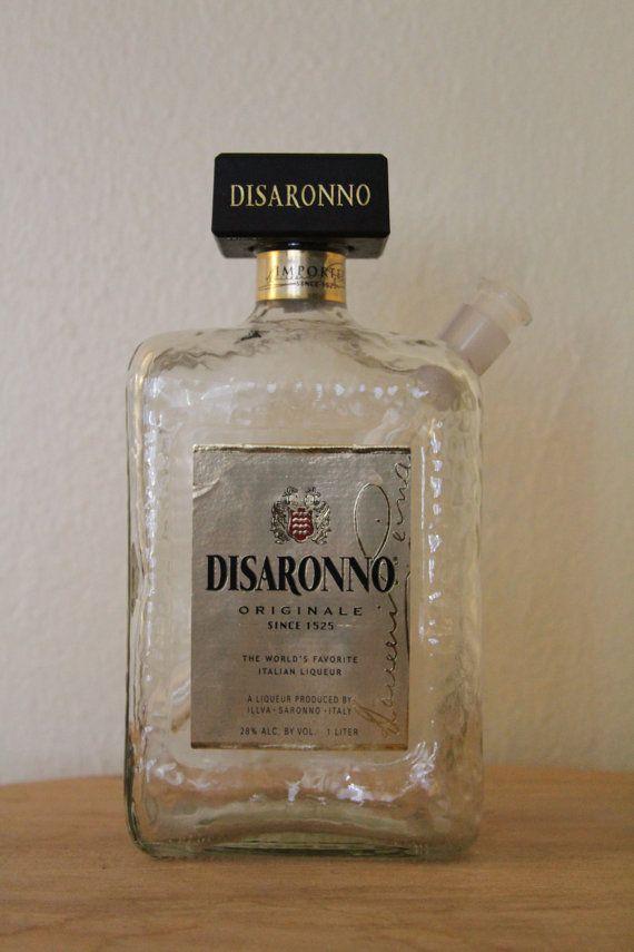 Don Julio Tequila Blanco Liquor Bottle Bong by BottleBongsbyAllen