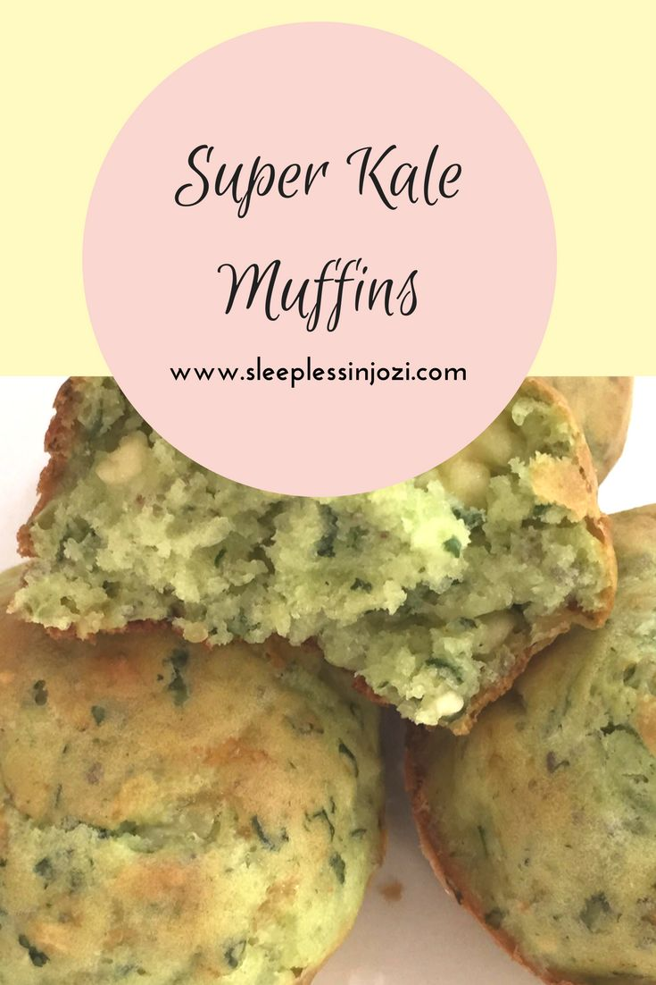 Superfood Muffins | Kale & Chia Muffins | Kale & Feta Muffins | Savoury Muffin Recipe | Muffin Recipe with superfood ingredients | Healthy toddler meals | healthy toddler snacks