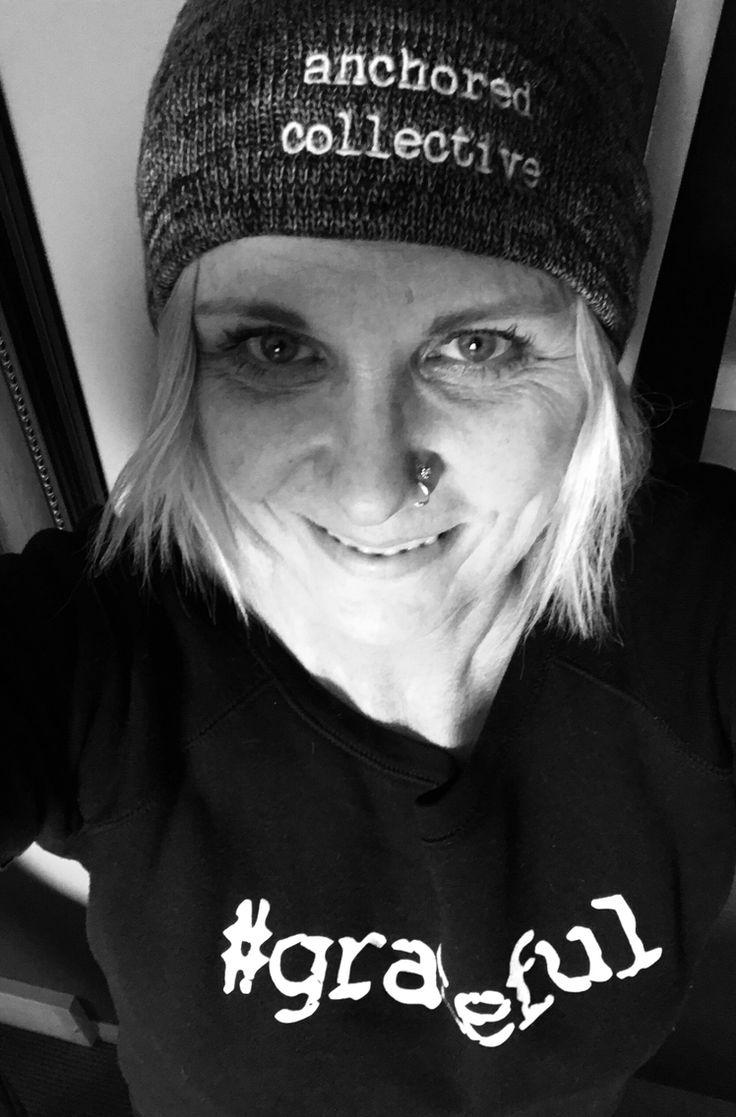 Grateful sweatshirt and anchored beanie - fall essentials
