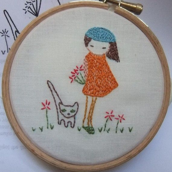 Hey, I found this really awesome Etsy listing at http://www.etsy.com/listing/87664252/shy-girl-hand-embroidery-pattern-pdf