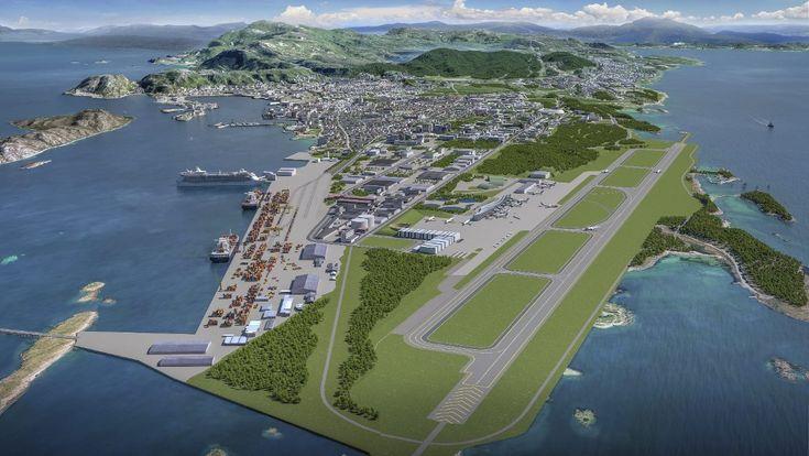 Utstillingsvindu: Det er bare fantasien som setter grenser for nyetableringer og muligheten for «Ny by ny flyplass» til å bli det beste utstillingsvinduet i verden i bruk av ny teknologi.