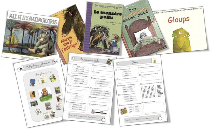 "A great listing of French books featuring the ""monster"" theme. :-)  Also includes some printable activity sheets, poems, songs and crafts that capture the magic of monsters!"