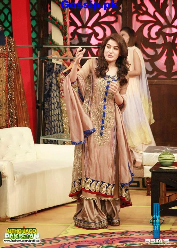 shaista-new-dresses-in-utho-jago-pakistan-wedding-week-2014