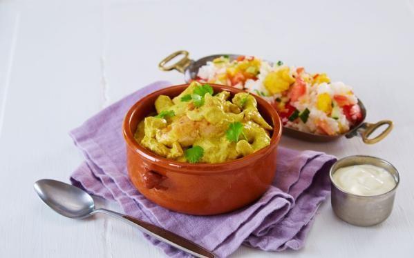 Oppskrift på Kylling curry, foto: