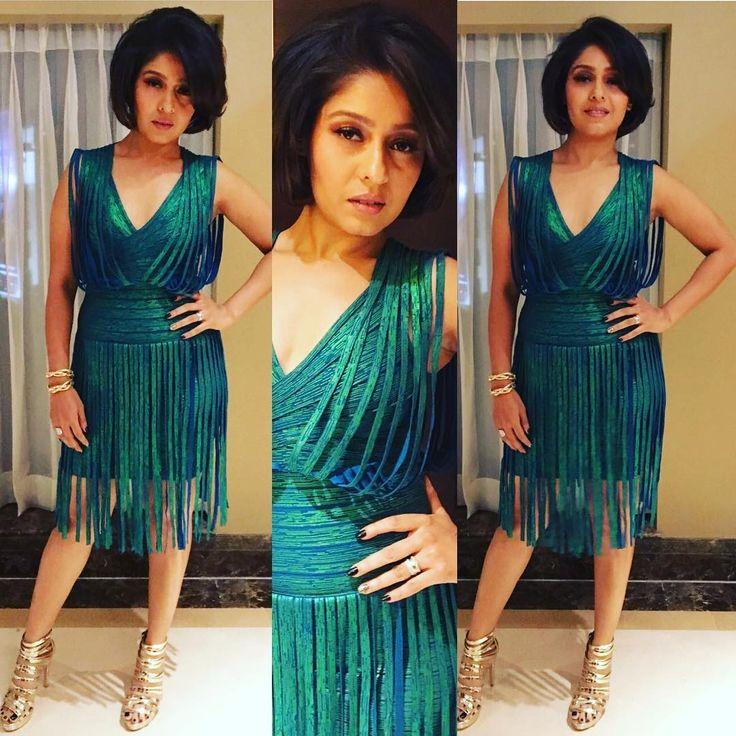 Tonight's look for Mumbai show! #styledby @poojakapoor08 #makeup @mishra.shikha #hairby @kauser_shaikh
