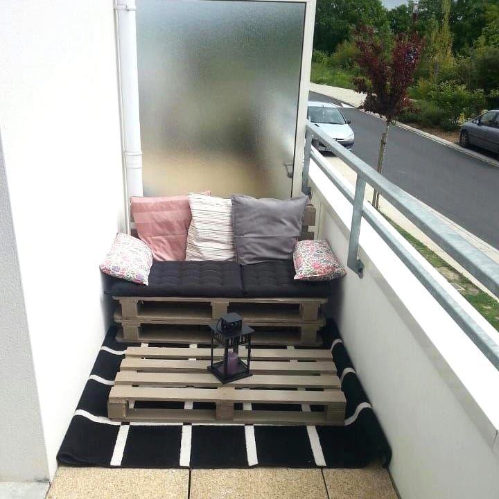 19 best arredare il giardino con i pallet fai da te diy - Divanetto da balcone ...