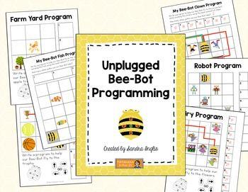 Bee-bots unplugged programming