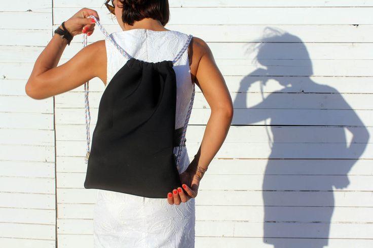 #backpack #neopren #black #sangendra