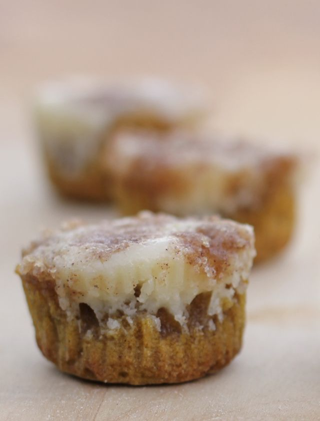 Pumpkin Cheesecake Muffins | With Lovely,