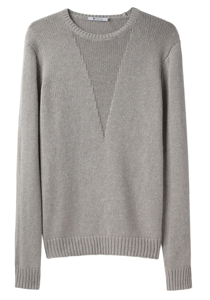 Silk Cotton Pullover by T by Alexander Wang