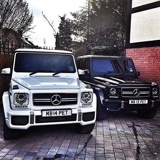 Yin und Yang. Mercedes G-Klasse. Die Fakten sind nur schwarz und weiß … das heißt
