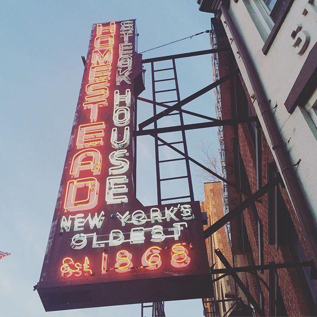 Old Homestead Steakhouse- New York City, New York, NY