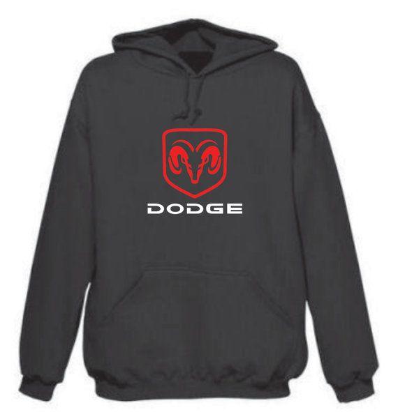 Dodge Ram Truck Hoodie  Red/White Logo by tshirtmegastore on Etsy, $25.00