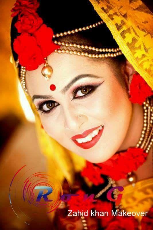 Bangladeshi bride#holud attire#zahid khan makeover