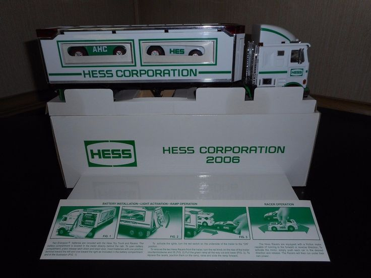 2006 Hess Toy Truck Special Edition Truck In Mint Condition