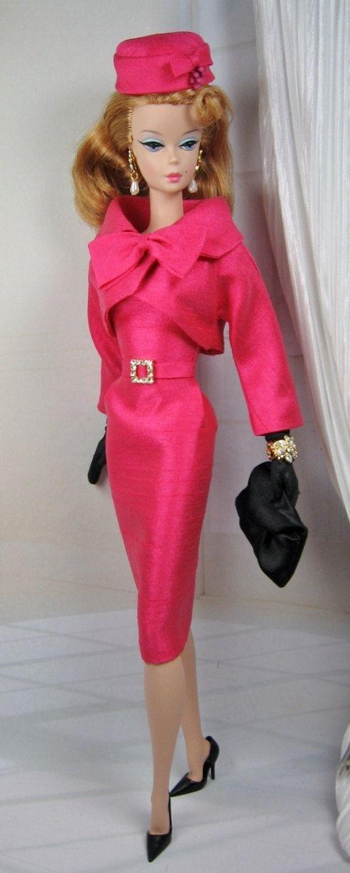 Tulipa for Silkstone Barbie OOAK Doll Fashion by MatisseFashions