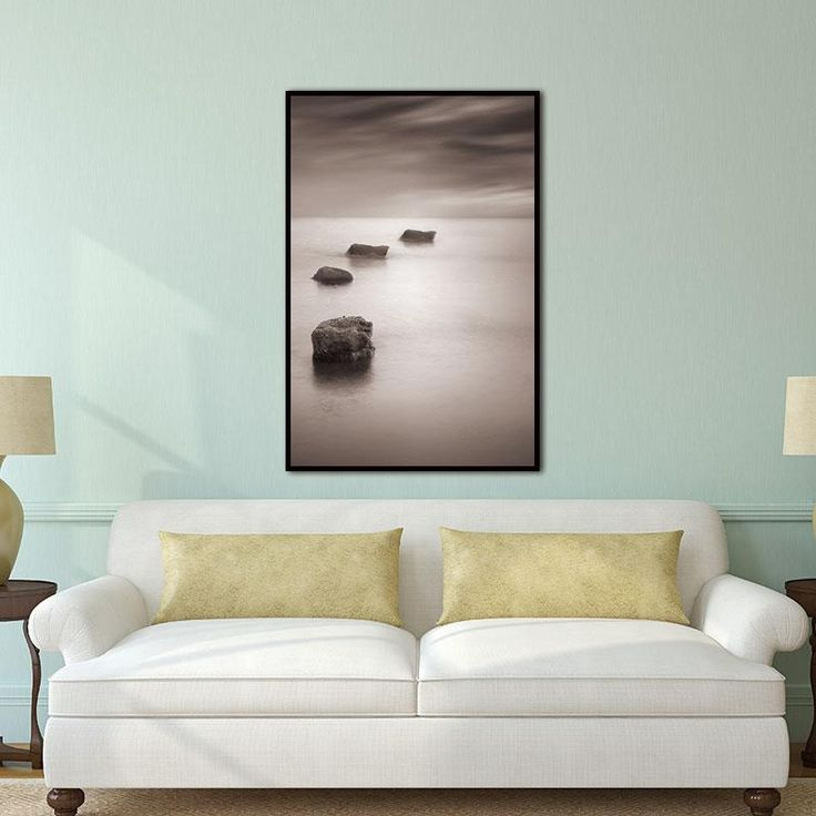 living room art prints%0A Abstract Lake Stone Natural Nordic Wall Pictures for Living Room Art  Decoration Scandinavian Canvas Painting Prints