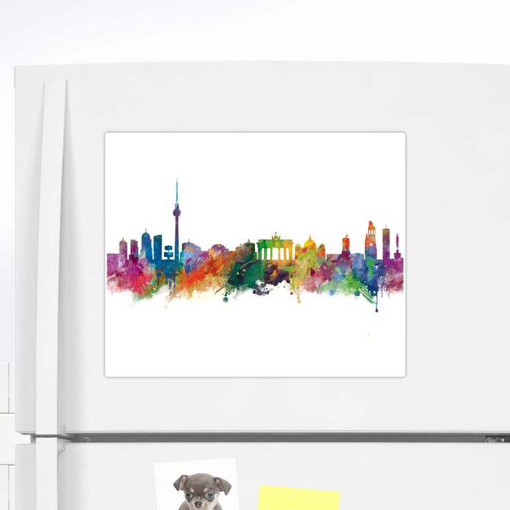 Berlin  #berlin #skyline #landscape #cityscape #art #print #sticker #stationery #gift #ideas #travel #colorful #europe #deutschland #germany #german #city #architecture #tower #abstract #watercolor #minimalist