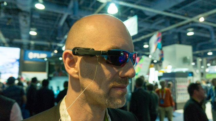 Mit einem an der Brille montierbaren Head-up-Display will Garmin ambitionierte Radfahrer ansprechen und für mehr Sicherheit im Straßenverkehr sorgen. Ganz billig ist der Spaß aber nicht.