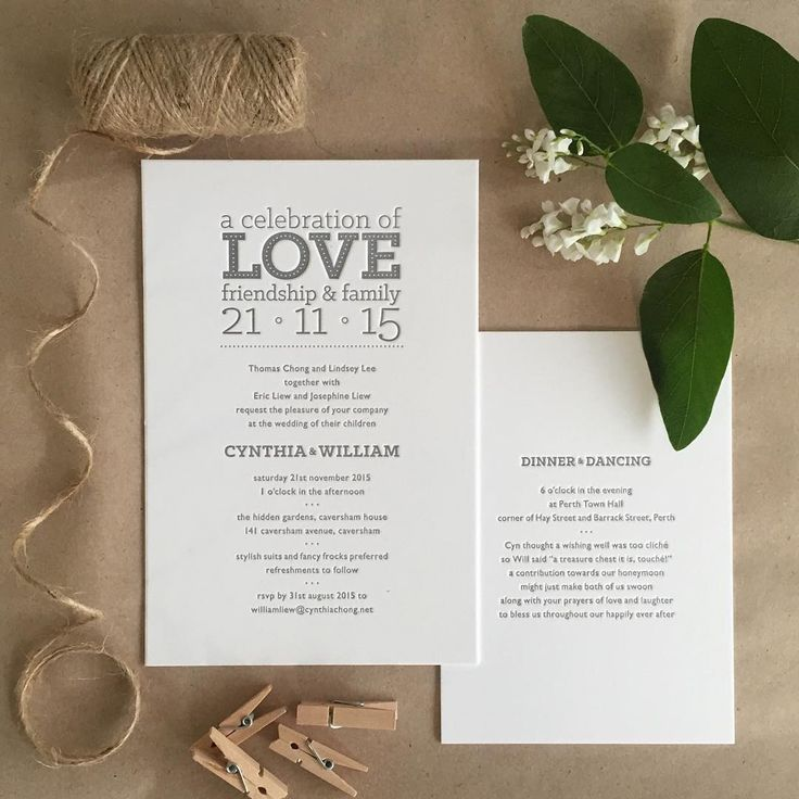 What every wedding day should be about... #celebrationoflove #fentonink #weddinginvitation #letterpress #celebrate #wedding #love